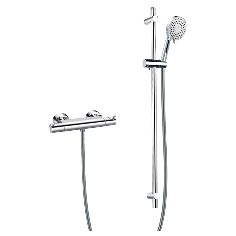 Flova Easyfit Levo Thermostatic Exposed Shower Kit