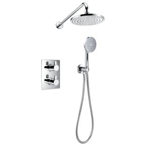 Flova Essence Thermostatic 2 Outlet Shower Pack