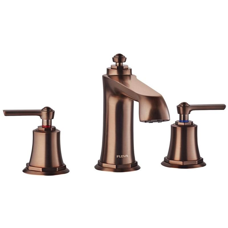 Flova Liberty 3-Hole Deck Mounted Bath Filler Bronze