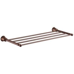 Flova Liberty 4-Towel Shelf Bronze