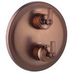 Flova Liberty Slim 3 Outlet Shower Trim Kit Only Bronze
