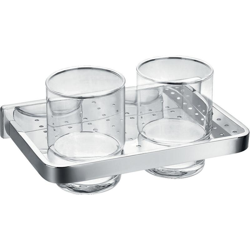 Flova Sofija Double Glass Tumbler Holder