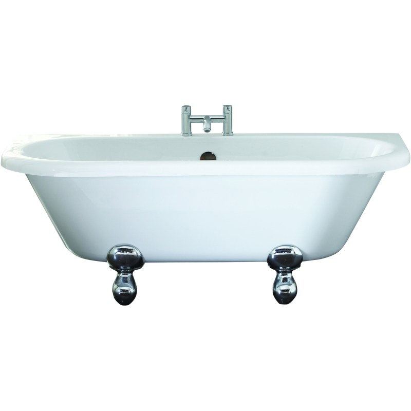 Holborn Kildwick 1700x750mm Back-To-Wall Freestanding Bath