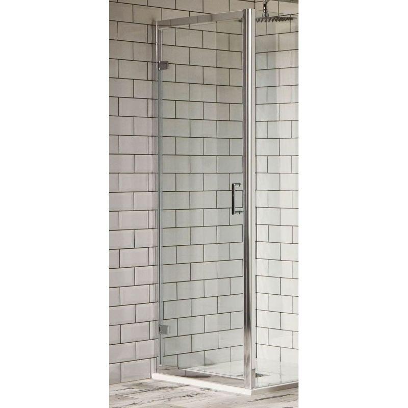 Aquaglass Purity 760mm Hinged Pivot Door