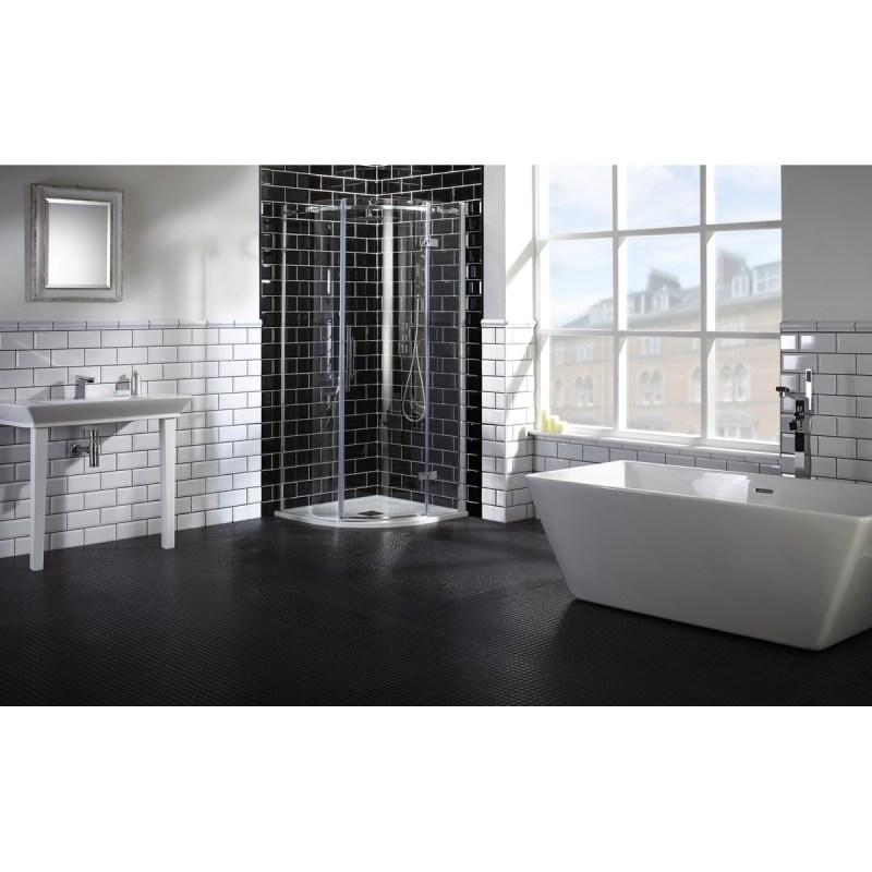 Aquaglass  Elegance 800x800mm Quadrant RH Enclosure