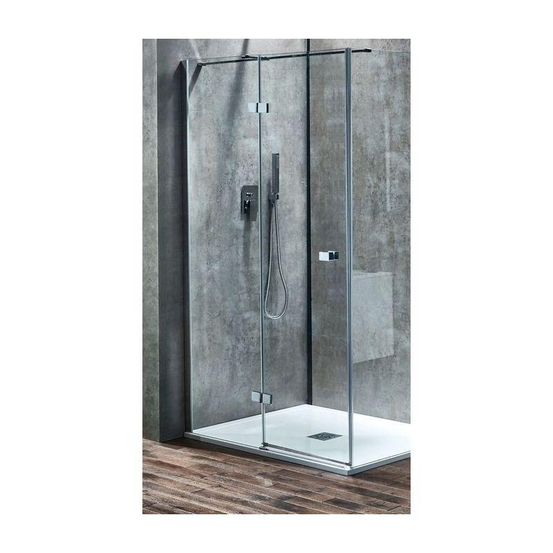 Aquaglass  Linear 1400mm Hinge Door Left