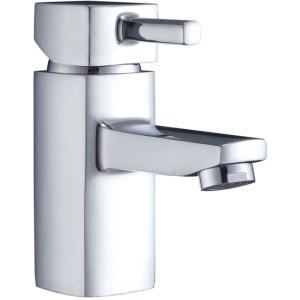 Aquaflow Cubix2 Mono Basin Mixer with Click Clack Waste