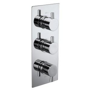 Aquaflow Italia Pure Triple Concealed Shower Valve