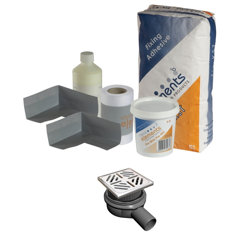 Frontline Shower Tray Install Pack - Square Waste