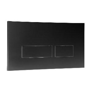 Frontline Trend Flush Plate Black