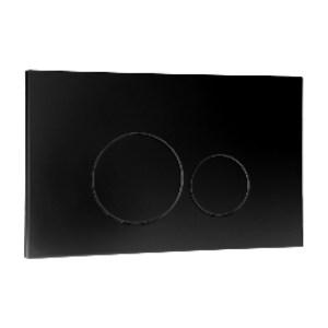 Frontline Iso Flush Plate Black