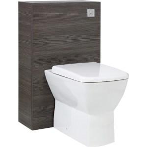 Aquatrend Petite Avola Grey WC Unit