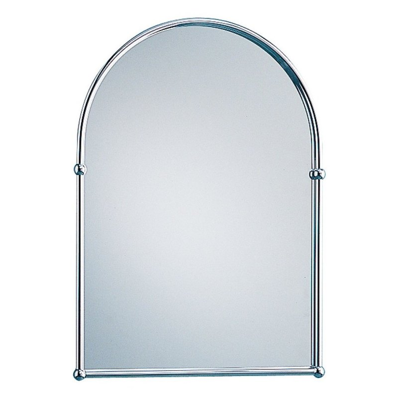 Holborn Traditional Arched Mirror Chrome