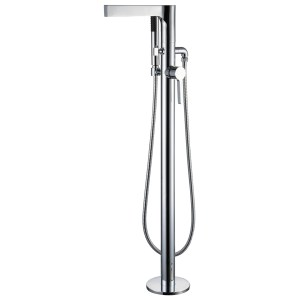Aquaflow Gemini Freestanding Bath Shower Mixer Tap
