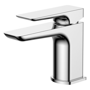 Aquaflow Sabre Chrome Basin Mixer with Click-Clack Waste