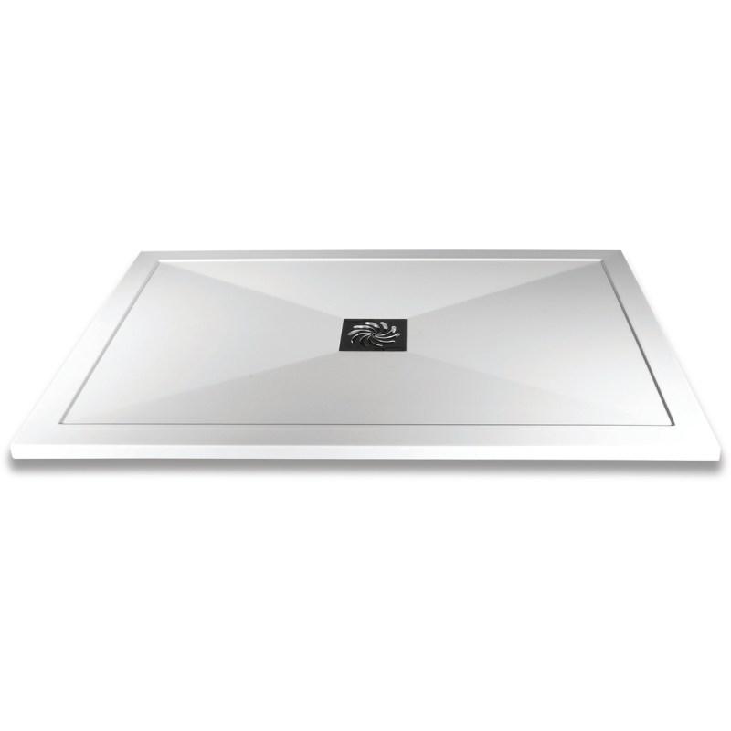 Aquaglass 1000x800mm Slimline Shower Tray