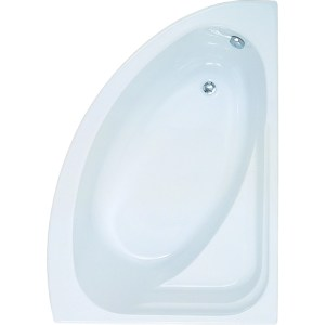 Aquabathe Orlah 1500 x 1040mm Offset Corner Bath RH