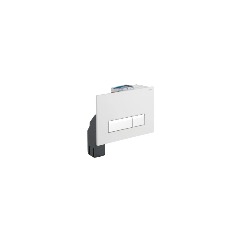 Geberit Flush Plate Sigma40 Dual with Odour Extraction, Glass