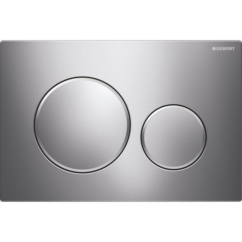 Geberit Sigma20 Dual Flush Plate Gloss/Matt/Gloss Chrome