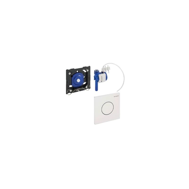 Geberit Urinal Flush Control Pneumatic Sigma01, Gloss Chrome