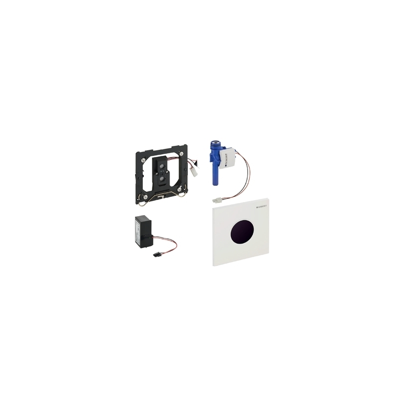 Geberit Urinal Flush Control Mains Sigma01, Matt Chrome