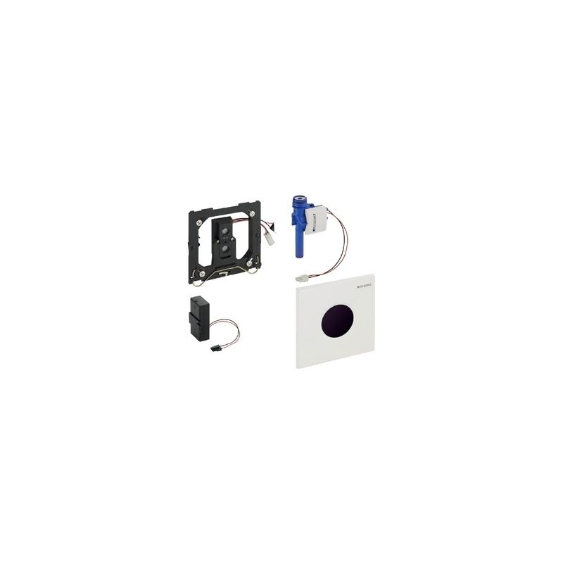 Geberit Urinal Flush Control Battery Sigma01, Gloss Chrome