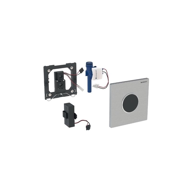 Geberit Urinal Flush Control Battery, Sigma10, Black/Chrome