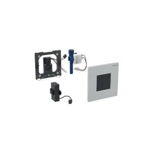 Geberit Sigma30 Urinal Flush Battery Matt/Gloss/Matt Chrome