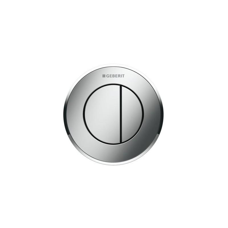 Geberit Dual Flush Button Type 10 Gloss/Matt/Gloss Chrome