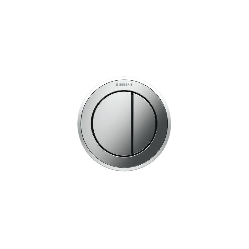 Geberit Dual Flush Button Type 10 Matt/Gloss/Matt Chrome
