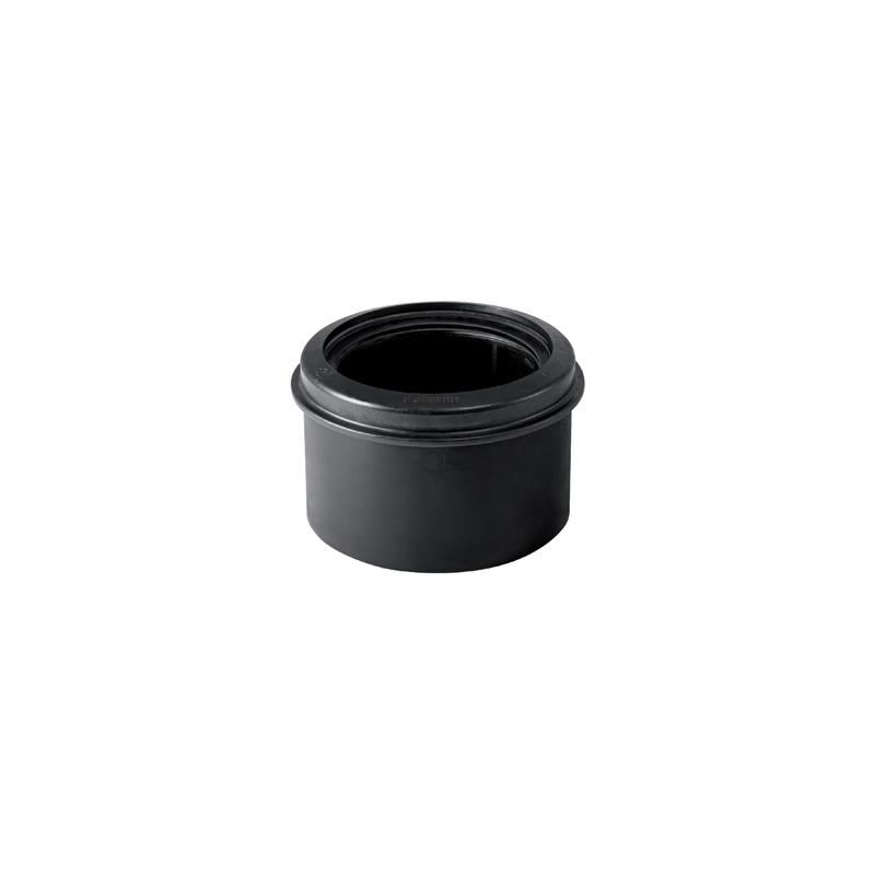 Geberit PE Adaptor Sleeve Black