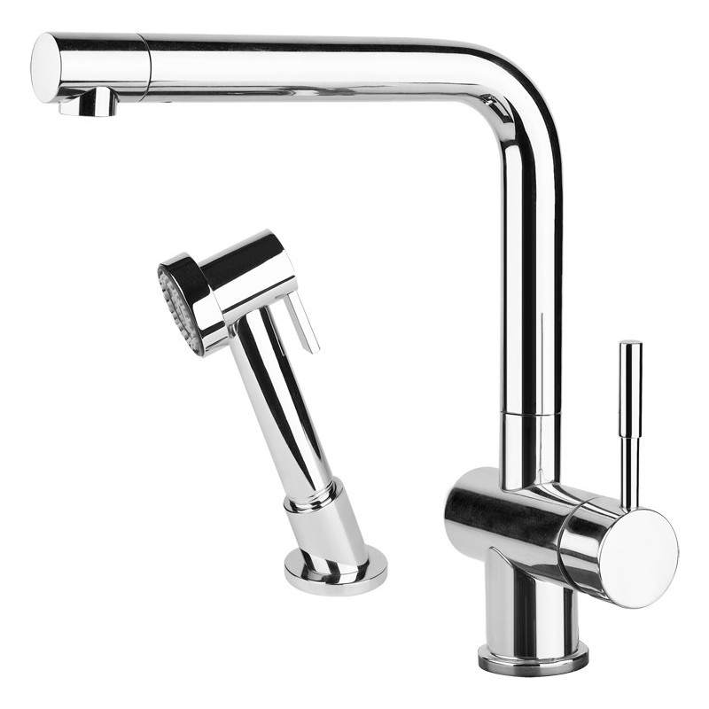 Gessi Oxygen Kitchen Sink Mixer 16556 Chrome