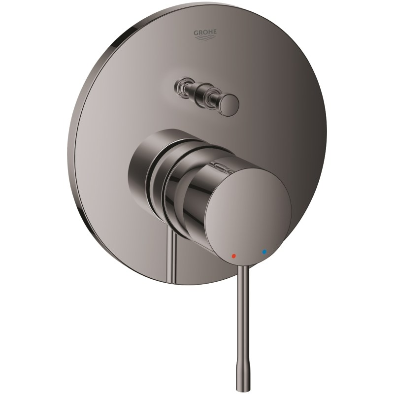 Grohe Essence Single-Lever Mixer with 2 Way Diverter Hard Graphite