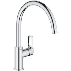 Grohe Bauloop Single-Lever Kitchen Sink Mixer Chrome