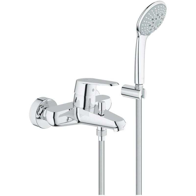 Grohe Eurodisc Cosmopolitan Wall Bath/Shower Mixer & Kit