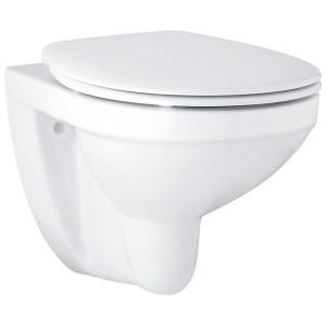Grohe Bau Ceramic Wall Hung WC Pan & Toilet Seat 39497