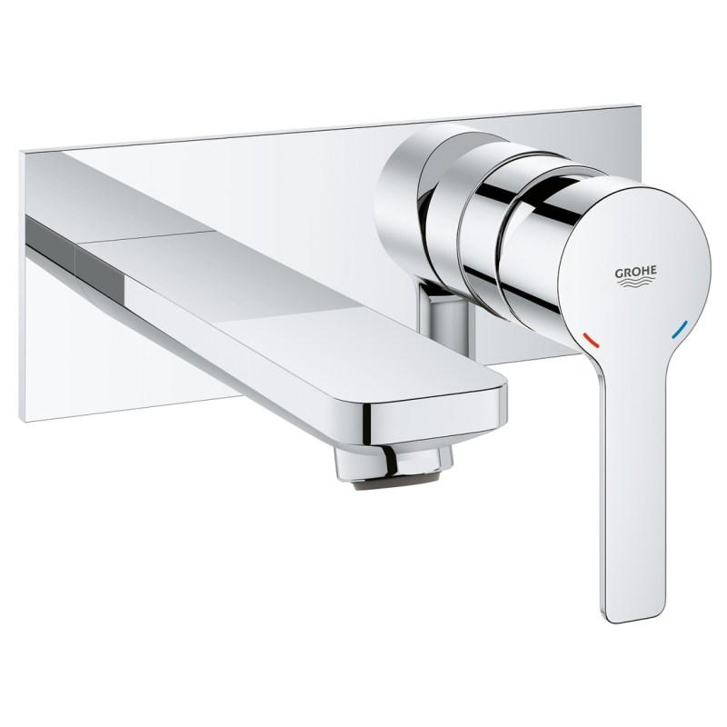 Grohe Lineare 2-Hole Basin Mixer Tap M-Size 19409 Chrome