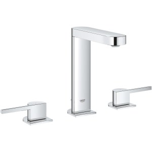 Grohe Plus 3-Hole Basin Mixer with Pop Up Waste M-Size 20301