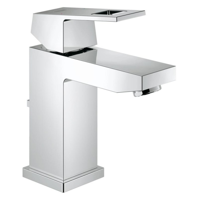 """Grohe Eurocube Basin Mixer with Pop-Up Waste 1/2"""" Small 23127"""