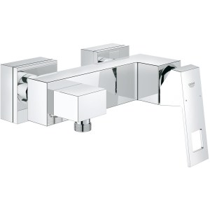 """Grohe Eurocube Wall Mounted Single-Lever Shower Mixer 1/2"""" 23145"""