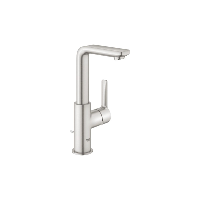 Grohe Lineare Basin Mixer Tap L-Size 23296 Supersteel
