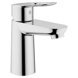"Grohe Bauloop Mono Basin Mixer Smooth Body 1/2"" 23337"