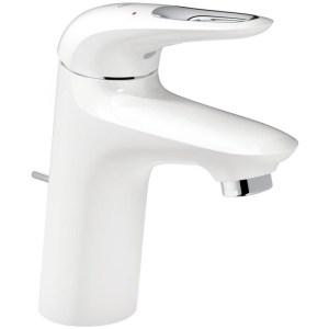 "Grohe Eurostyle Basin Mixer with Waste 1/2"" S-Size 23374 White"