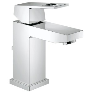 """Grohe Eurocube Basin Mixer with Pop-Up Waste 1/2"""" Small 23390"""