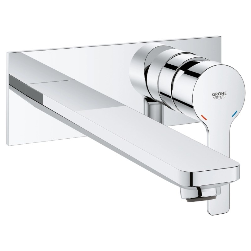 Grohe Lineare 2-Hole Basin Mixer Tap L-Size 23444 Chrome