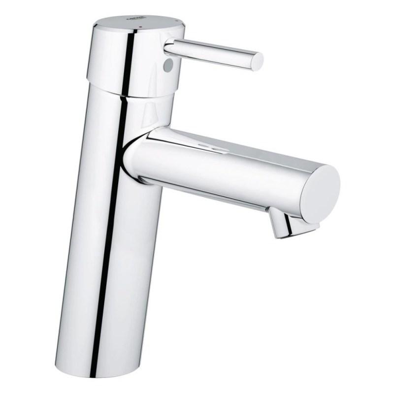 """Grohe Concetto Mono Basin Mixer Smooth Body 1/2"""" Medium 23451"""