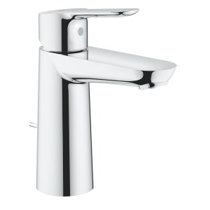 Grohe BauEdge Basin Mixer with Pop Up Waste M-Size 23759