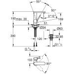 Grohe Plus Basin Mixer M-Size 23872