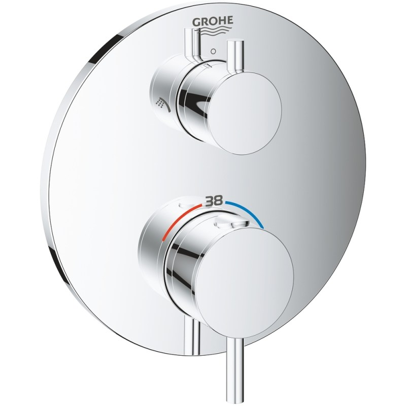 Grohe Atrio Thermostatic Shower Mixer Trim for 2 Outlets 24135