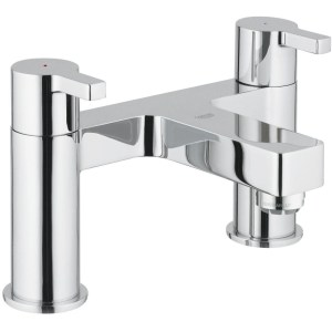 """Grohe Lineare Two-Handled Bath Filler 1/2"""" 25104"""